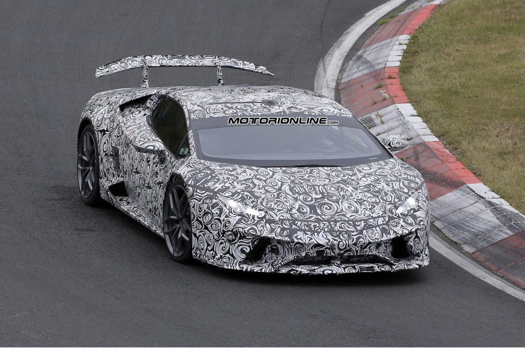 Lamborghini Huracan Superleggera foto spia 18 ottobre 2016