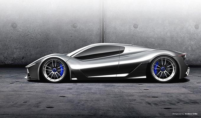 Maserati MC-63: un'immaginaria hypercar concept del Tridente su base LaFerrari [RENDERING]