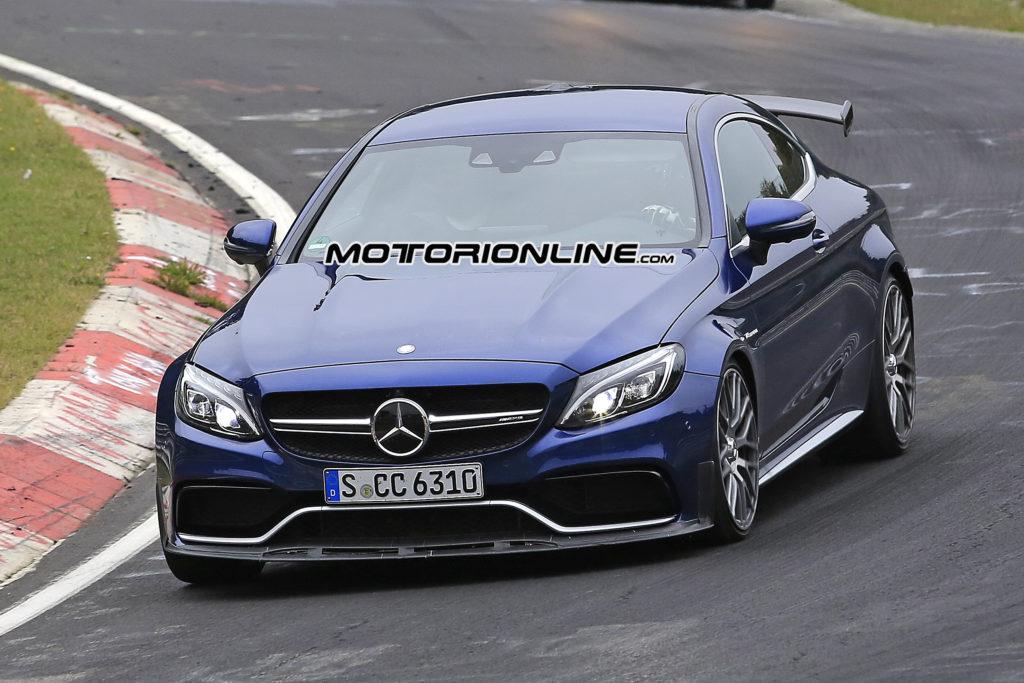Mercedes-AMG C63 R Coupé: VIDEO SPIA della nuova top performance