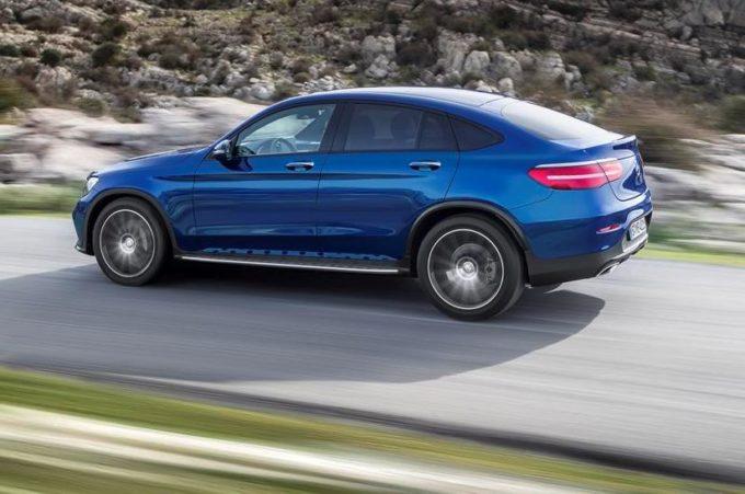 Mercedes GLC Coupé: porte aperte il 15 e 16 ottobre [VIDEO]