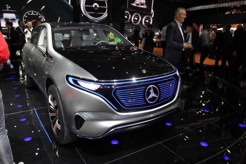 Mercedes Generation EQ - Salone di Parigi 2016