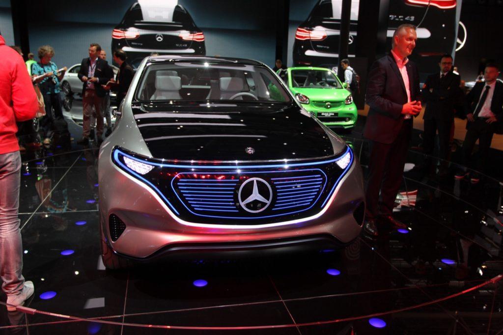 Mercedes EQ Concept: l'esemplare di serie verrà costruito a Brema