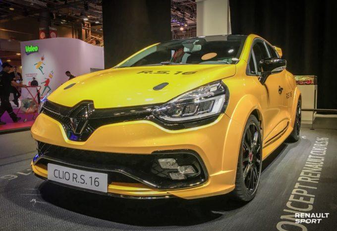 Renault Clio R.S. 16 - Salone di Parigi 2016