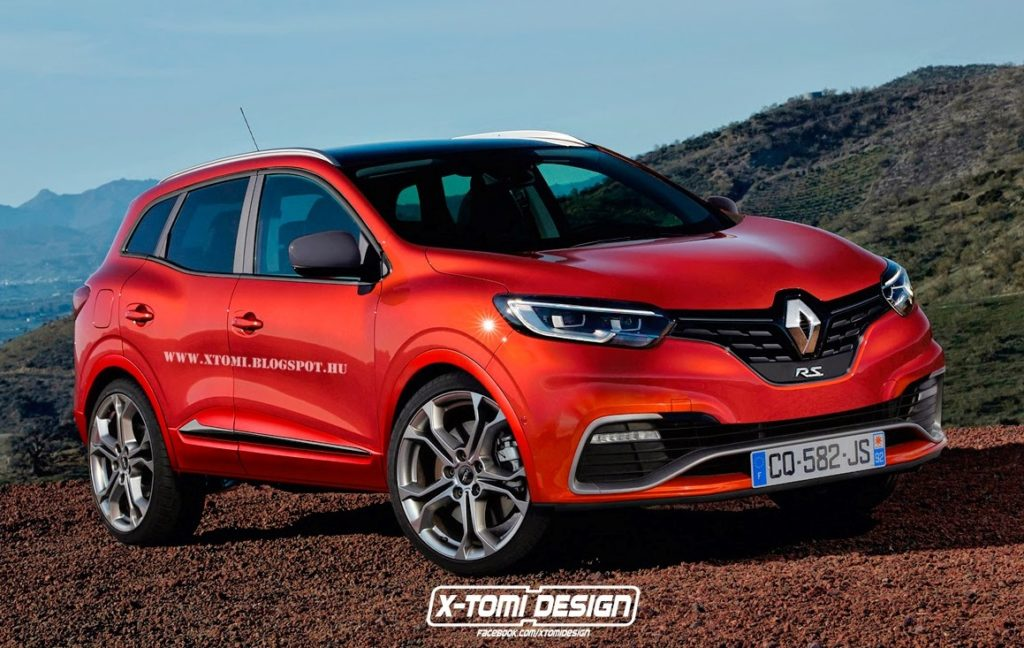 Renault Kadjar RS: ipotesi sul look della variante hot del crossover [RENDERING]