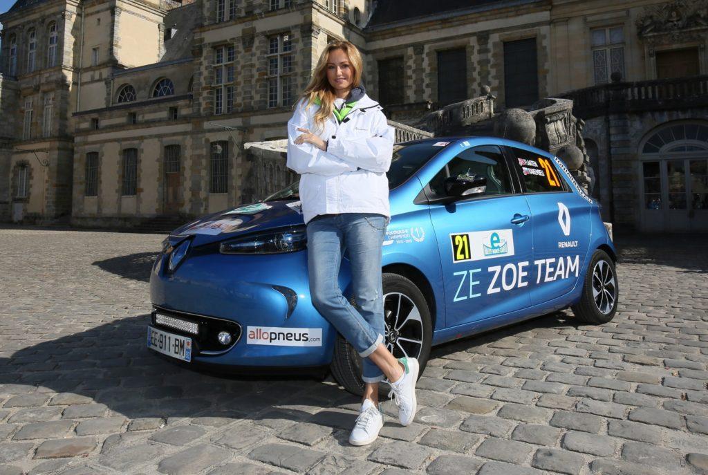 Renault Zoe sugli scudi all'e-Rally di Montecarlo 2016