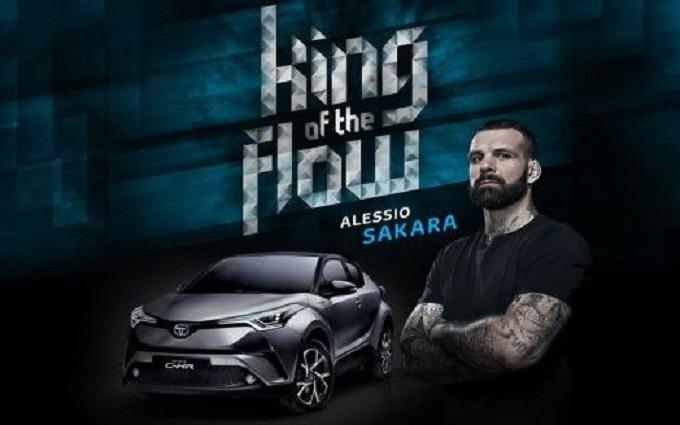 Toyota C-HR ha il suo il re del flow: è Alessio Sakara