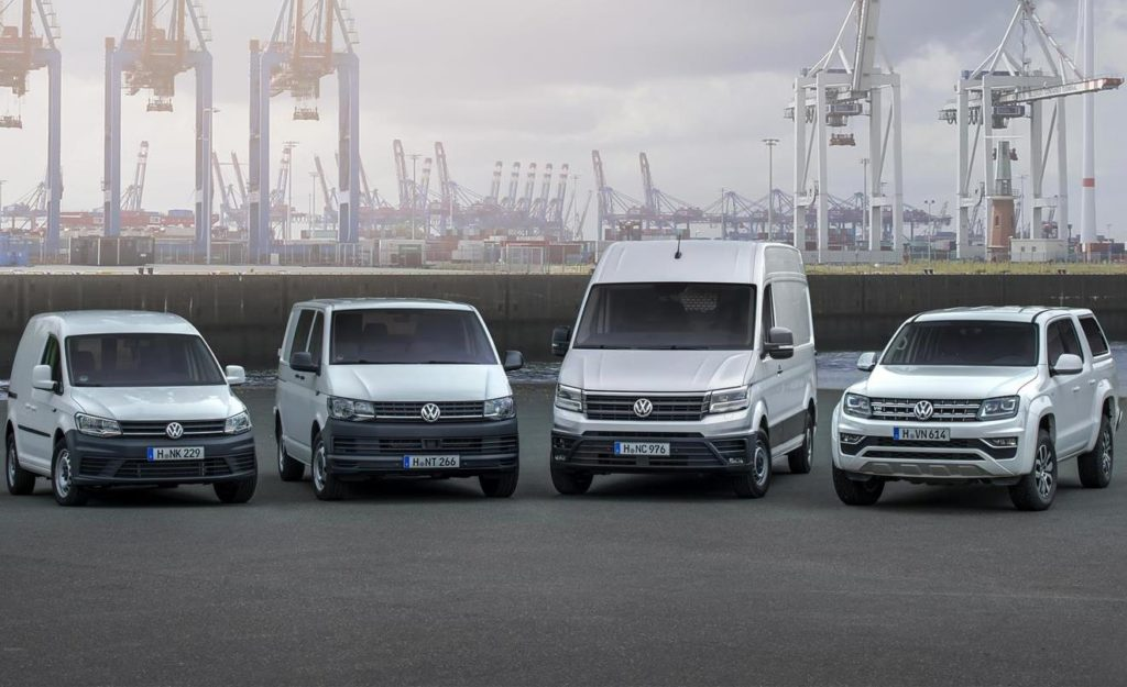 Volkswagen Veicoli Commerciali, crescita delle vendite globali: +9,1% nei primi nove mesi del 2016