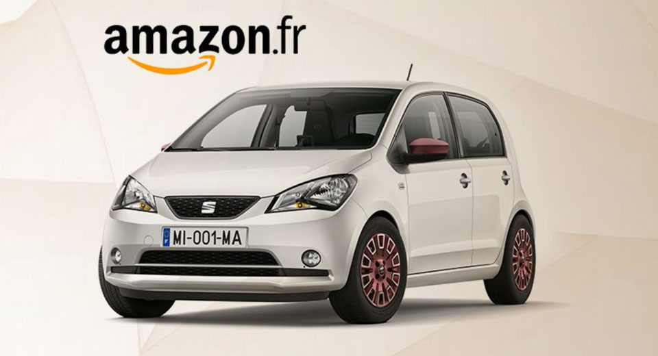 Seat Mii: al via le vendite su Amazon
