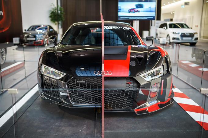 Audi R8: comparazione tra strada e pista