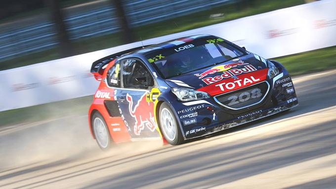 FIA World Rallycross, Peugeot: prima vittoria per Sèbastien Loeb [VIDEO]