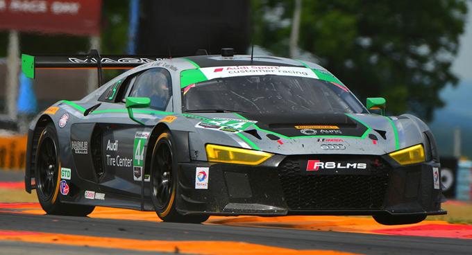 Audi R8 LMS GT3: vittoria del titolo costruttori di classe GTD nella serie IMSA