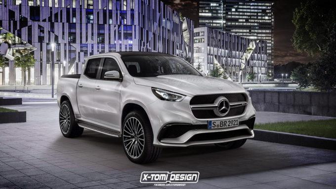 Mercedes Classe X Concept: come sarebbe una versione AMG? [RENDER]