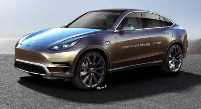 Tesla: sarà la Model Y ad essere svelata il prossimo 17 ottobre? [RENDER]