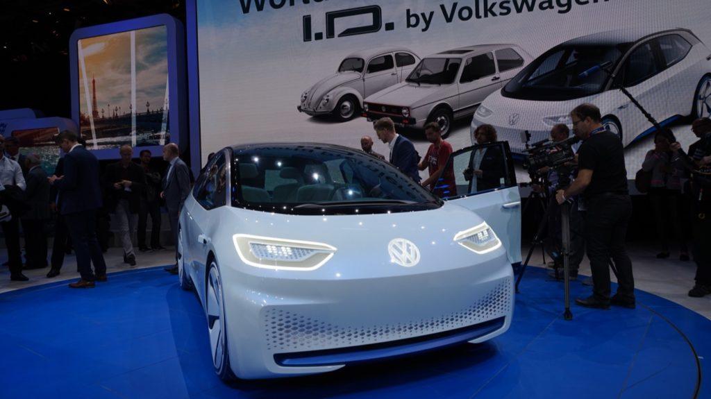Volkswagen ID - Salone di Parigi 2016