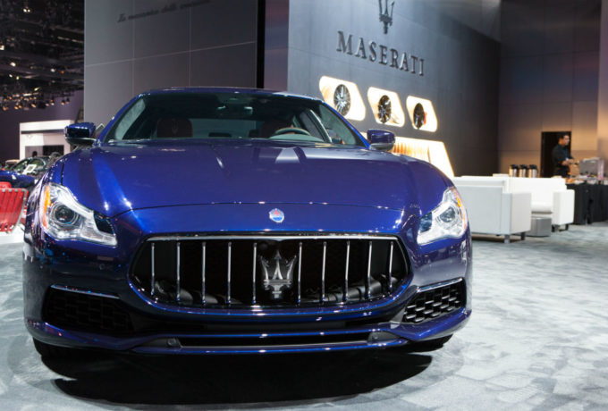 Gamma Maserati Salone Los Angeles 2016