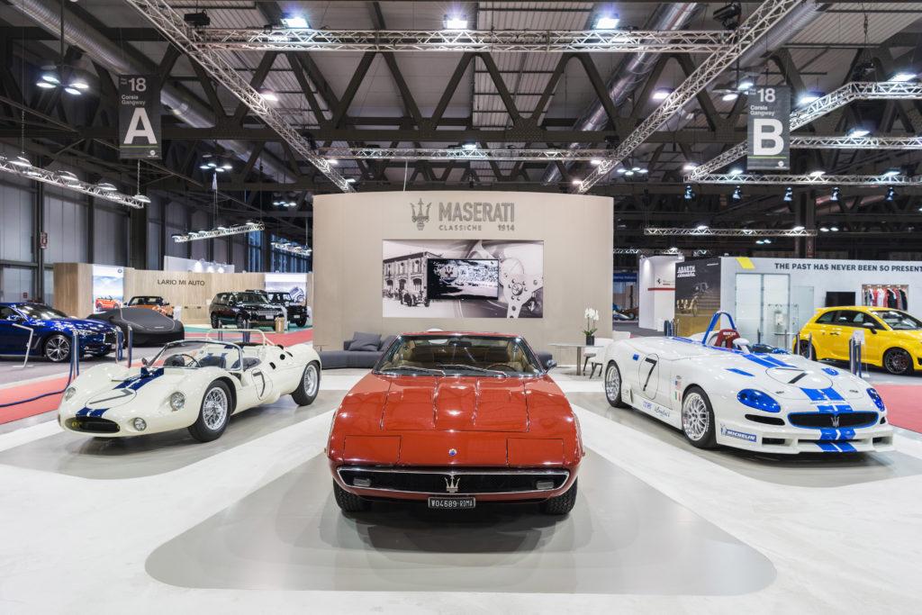 Maserati partecipa a Milano AutoClassica 2016 [FOTO]