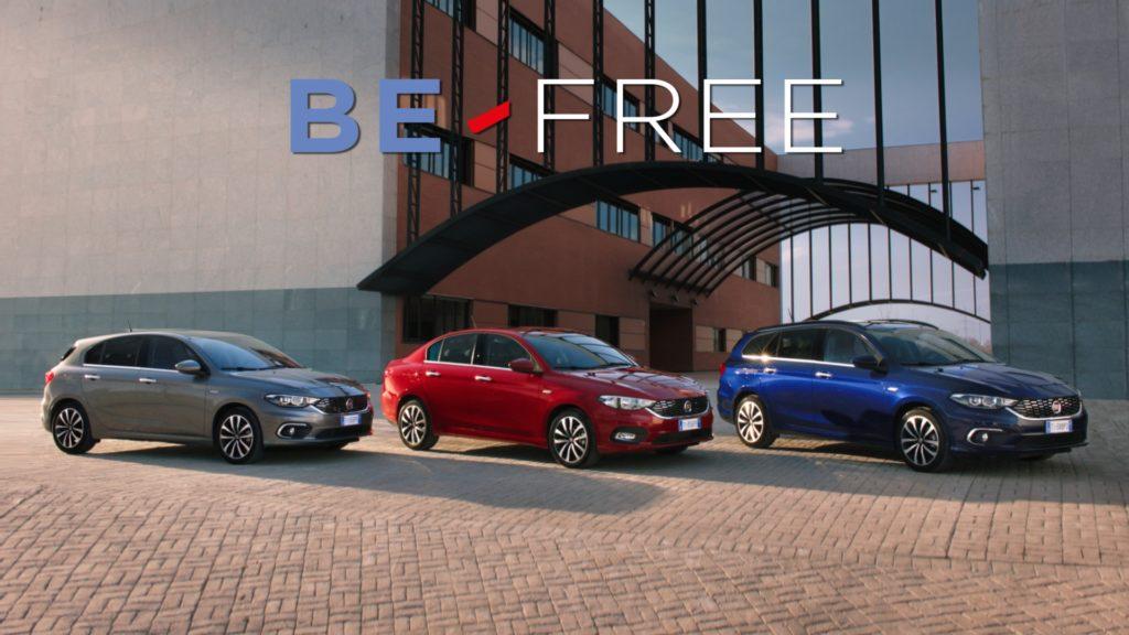 Fiat estende BE-FREE anche alla nuova Tipo