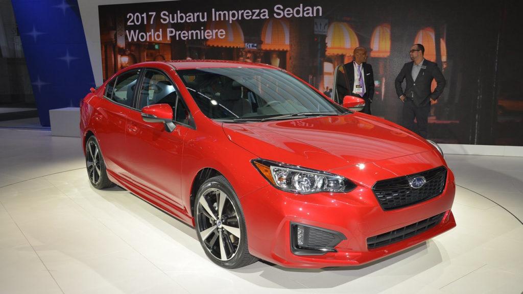 Subaru Impreza: prodotta la prima vettura negli Stati Uniti