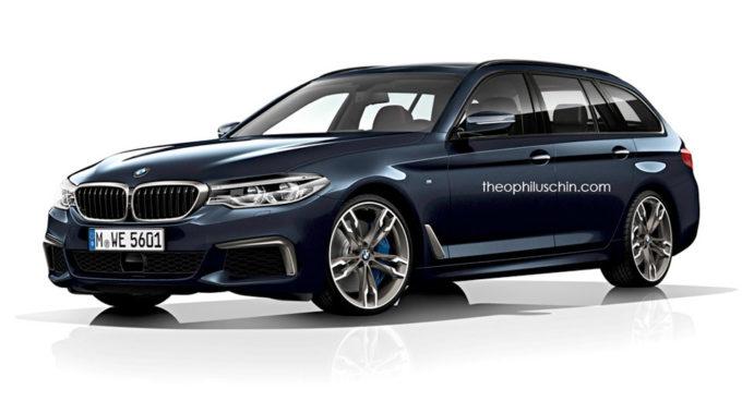 Nuova BMW Serie 5 Touring: la vedremo al Salone di Ginevra 2017? [RENDER]