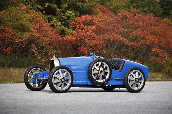 Bugatti Type 35 Grand Prix: l'iconica all'asta di Scottsdale