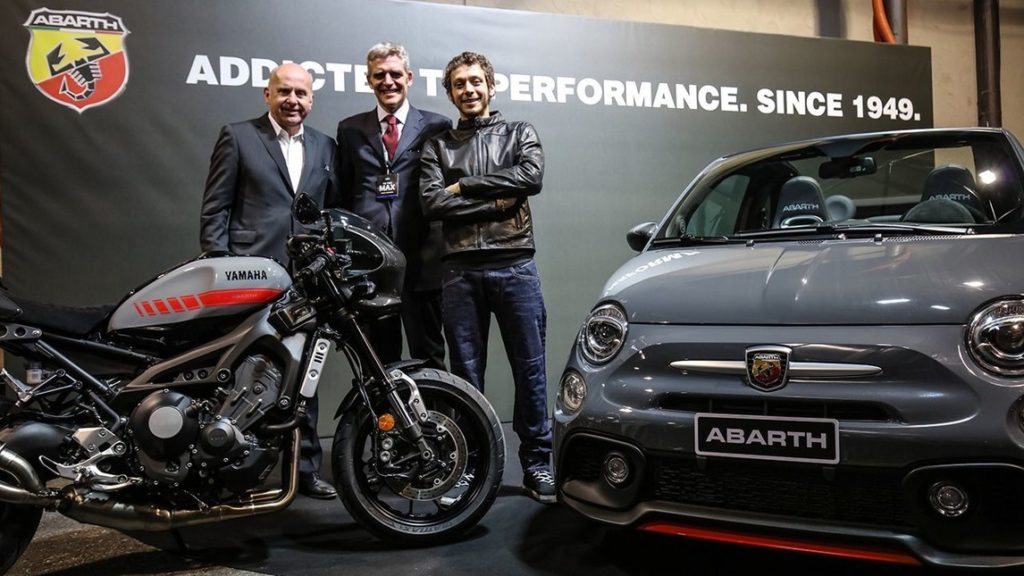 abarth 695 tributo xsr a eicma 2016 il concept che omaggia yamaha foto. Black Bedroom Furniture Sets. Home Design Ideas