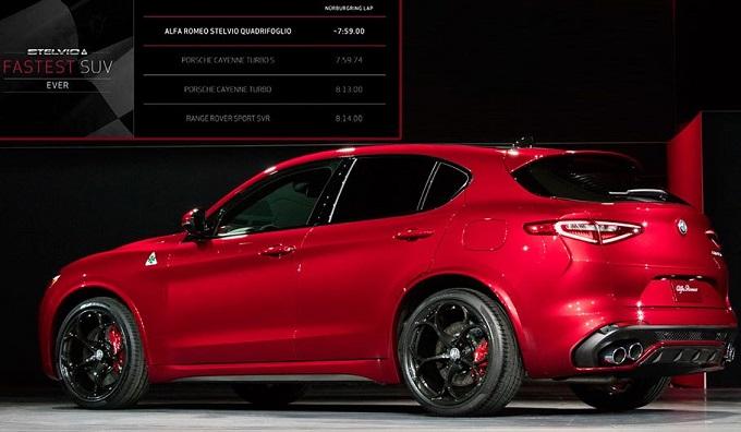 Alfa Romeo Los Angeles >> Alfa Romeo Stelvio Quadrifoglio: SUV con aspirazione da record al Nurburgring [FOTO LIVE]