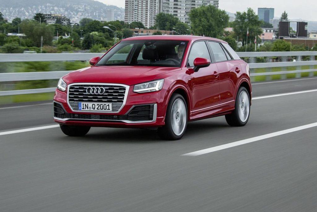 Audi Q2, al debutto il tre cilindri benzina TFSI 1.0 da 116 CV al prezzo di 25.000 euro