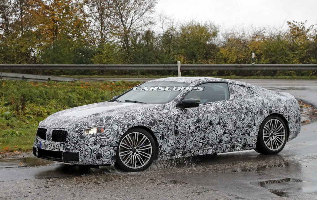 Nuova BMW Serie 8 foto spia 3 novembre 2016