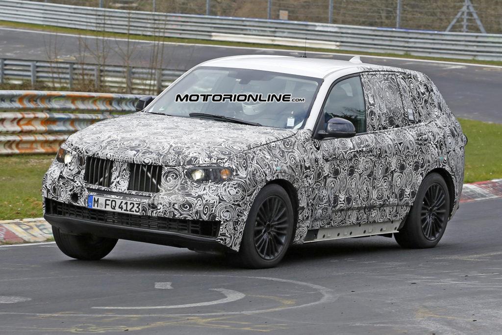 La nuova BMW X5 scende in pista al Nurburgring [FOTO e VIDEO]