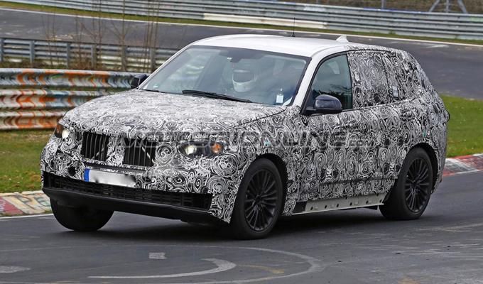 BMW X5 MY 2018: continua lo sviluppo sul tracciato dell'Inferno Verde [VIDEO SPIA]