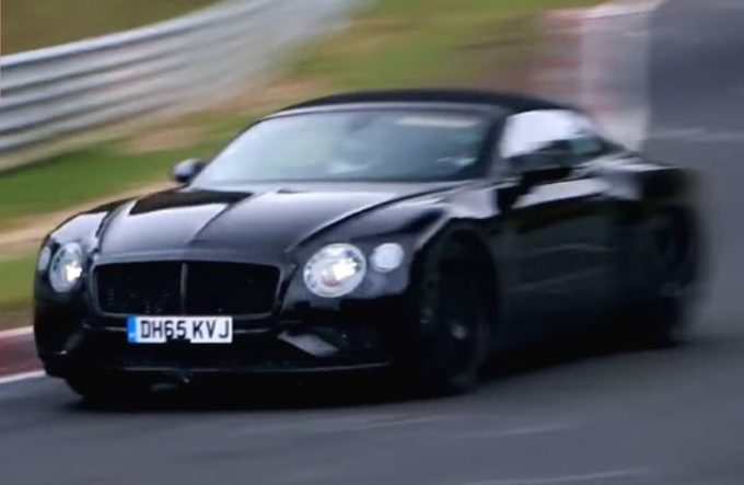 Bentley Continental GT: test drive al Nurburgring [VIDEO]