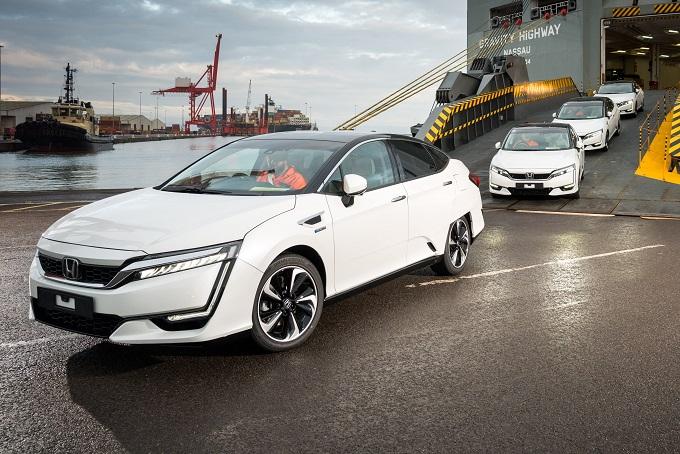 Honda Clarity Fuel Cell approda in Europa