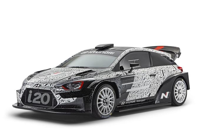 Hyundai Motorsport al Monza Rally Show: giovedì 1 dicembre sarà presentata la i20 WRC Plus 2017