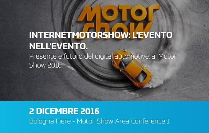 Internet Motors, l'evento dedicato al digital automotive approda al Motor Show di Bologna