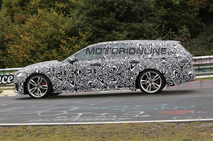 Jaguar XF Sportbrake 2017: VIDEO SPIA dal Nurburgring