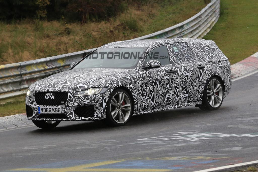 Nuova Jaguar XF Sportbrake: FOTO SPIA