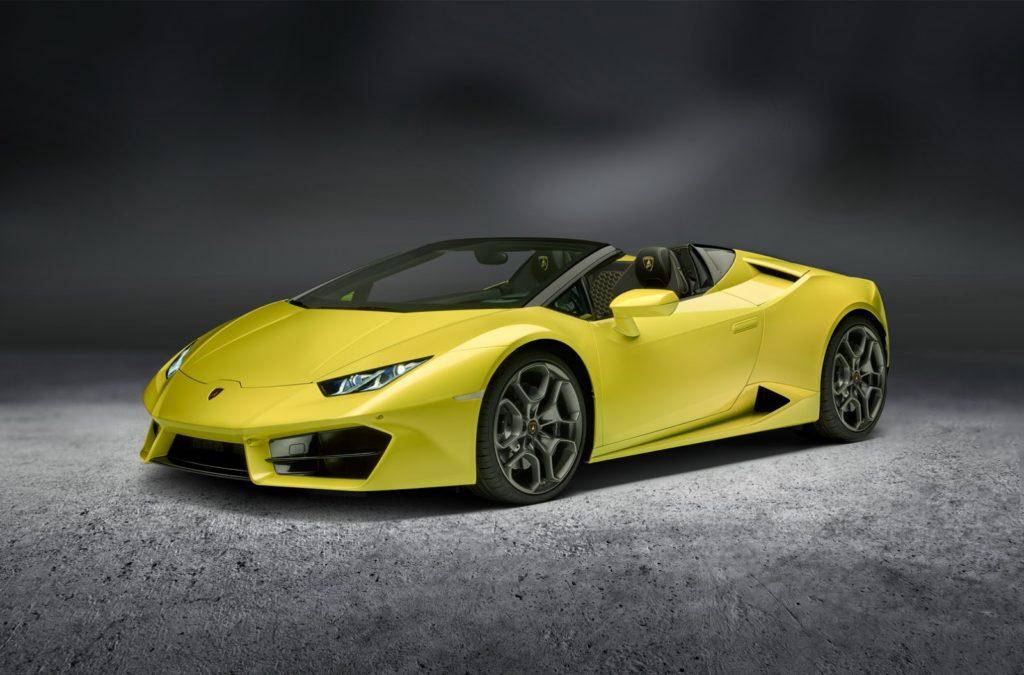 Lamborghini presenta a Los Angeles la RWD Spyder