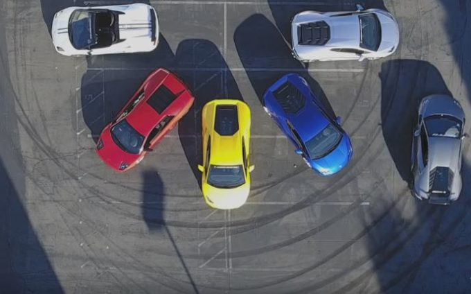 Lamborghini Huracan: il drift è da urlo [VIDEO]