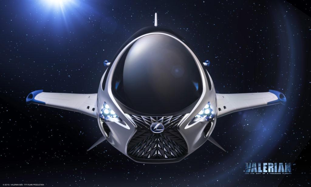 Lexus guarda al 28° secolo con il futuristico veicolo Skyjet [FOTO]