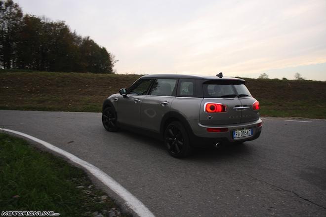 Mini Clubman Cooper D Maxi Versatilità A 6 Porte Prova Su Strada