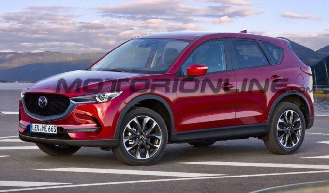 Mazda CX-5 MY 2017: RENDERING del nuovo SUV compatto