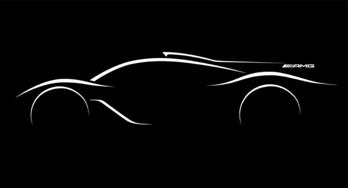 Mercedes AMG hypercar: l'estrema da 1.000 CV prevista per il 2018