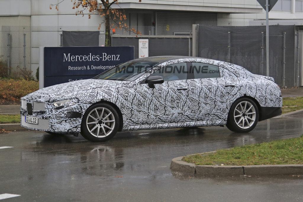 Nuova Mercedes CLS: primo filmato della nuova generazione [VIDEO SPIA]