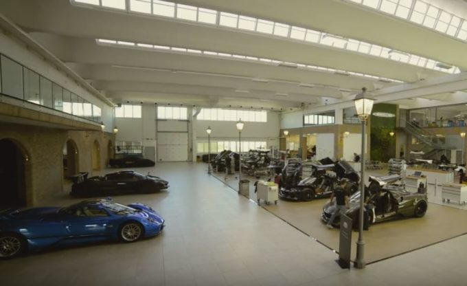 Pagani Automobili ha uno stabilimento tutto nuovo [VIDEO]