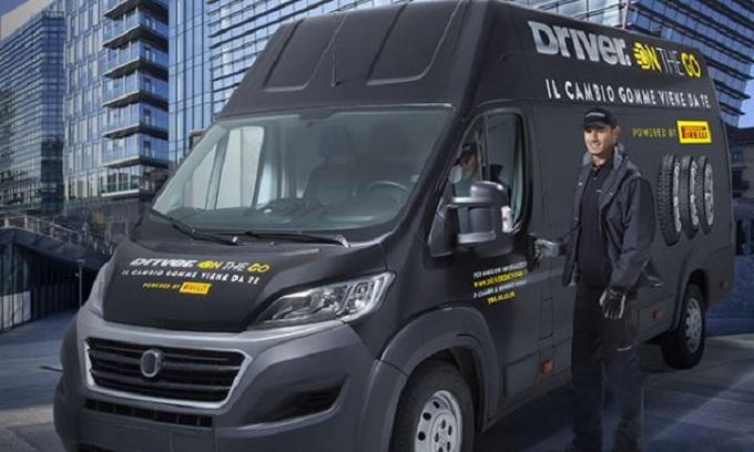 """Pirelli rilancia il servizio """"Driver on the go"""": il cambio gomme a casa del cliente"""