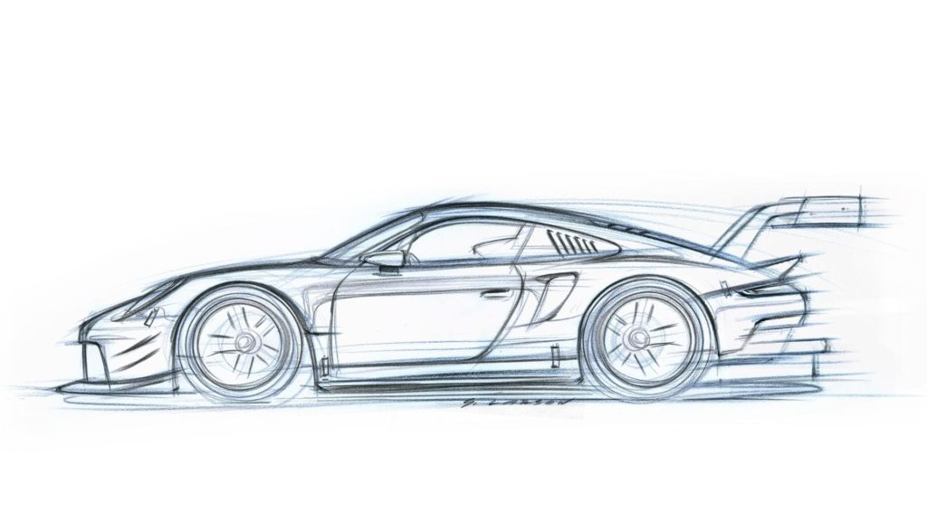 Porsche 911 RSR: nuove anticipazioni in vista dell'anteprima di Los Angeles [VIDEO]