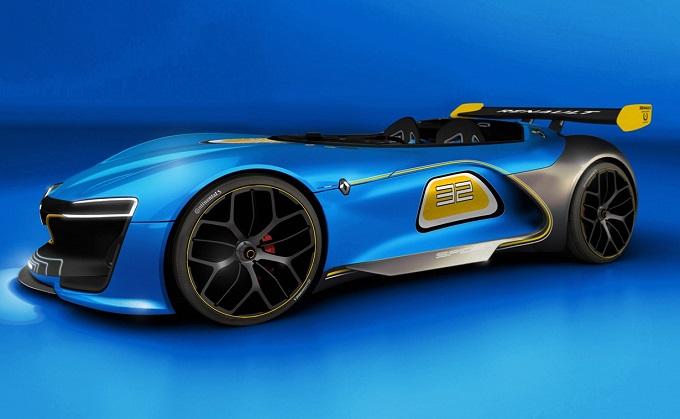 Renault Spider Concept: il RENDERING che porta la roadster francese ai giorni nostri