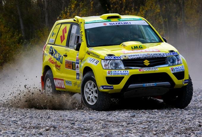 Cross Country Rally: Suzuki e Lorenzo Codecà festeggiano l'ottavo titolo di Campioni d'Italia [VIDEO]