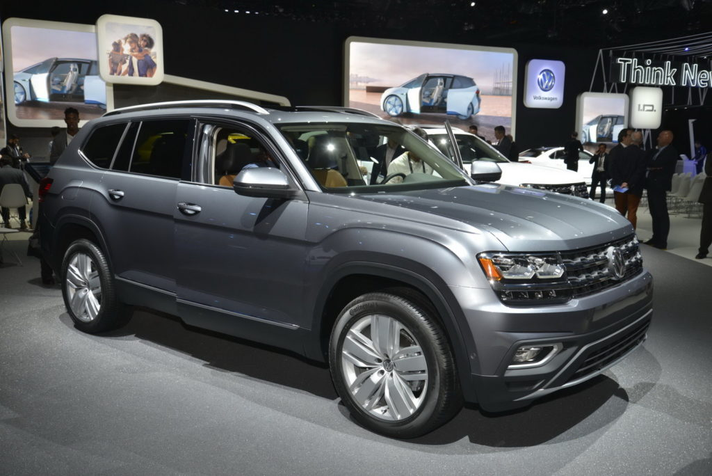 Volkswagen Atlas - Salone di Los Angeles 2016