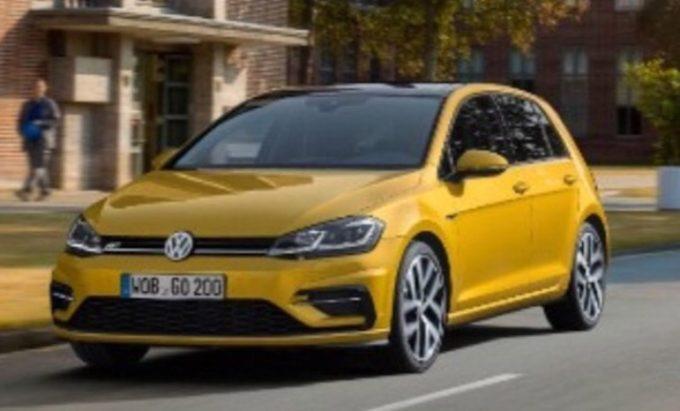 Volkswagen Golf MY 2017 - Foto Leaked